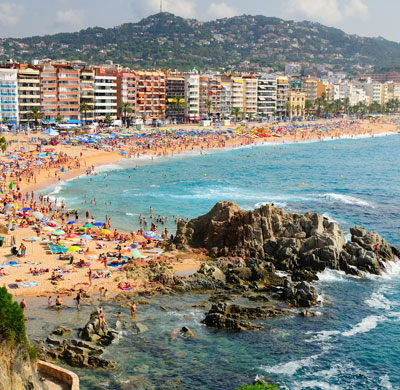 Destination background for Lloret de Mar