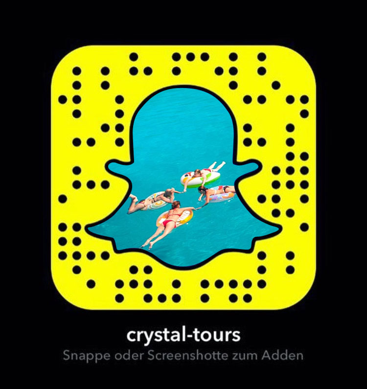Crystal-Tours Snapchat mobile